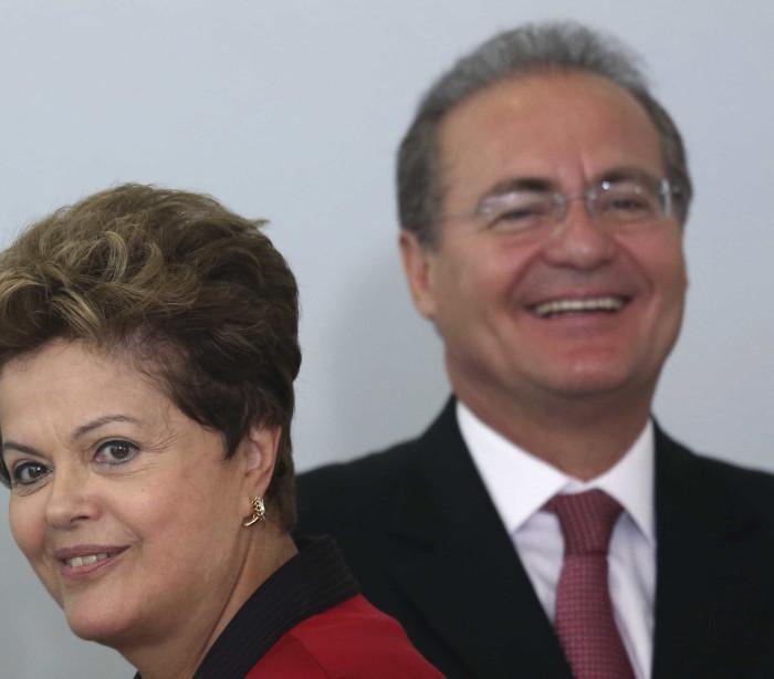 Renan negociou renúncia de Dilma para  ela se candidatar como senadora