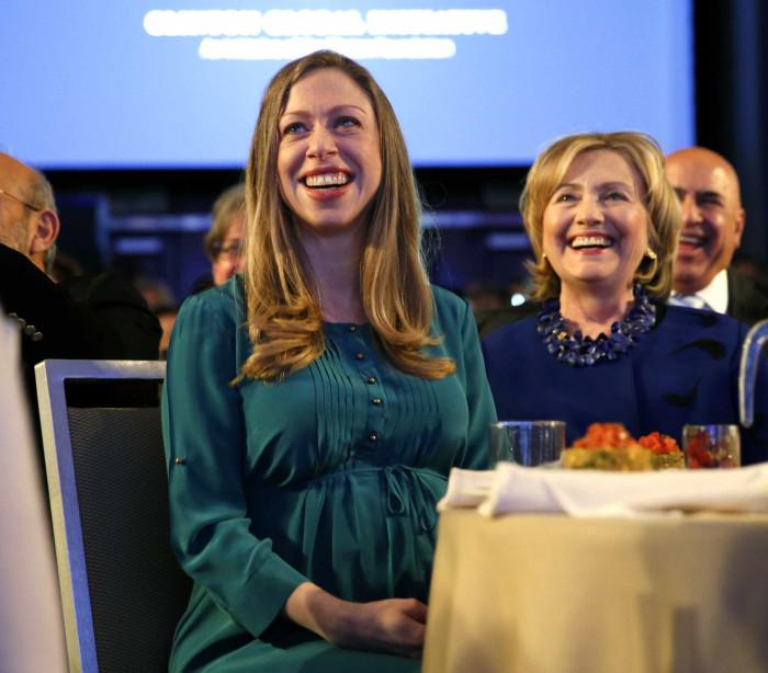 Chelsea Clinton dá à luz segundo filho