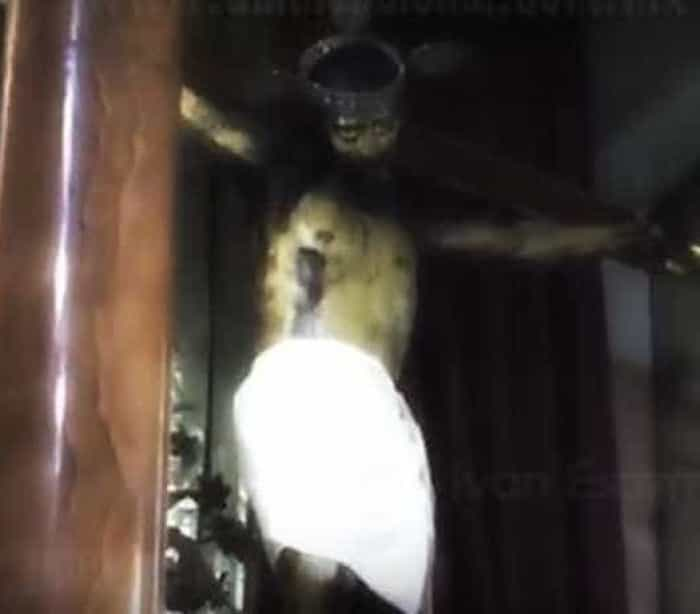 Vídeo que mostra estátua de Jesus Cristo abrindo os olhos, aterroriza internautas