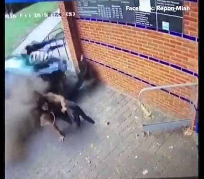 Mulheres são brutalmente atropeladas e se levantam ilesas; veja!