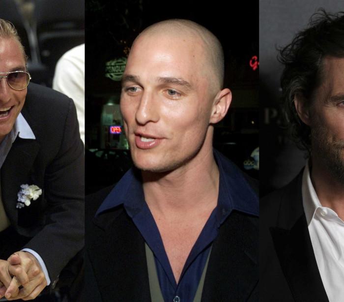 Matthew McConaughey e os rumores sobre a sua perda de cabelo