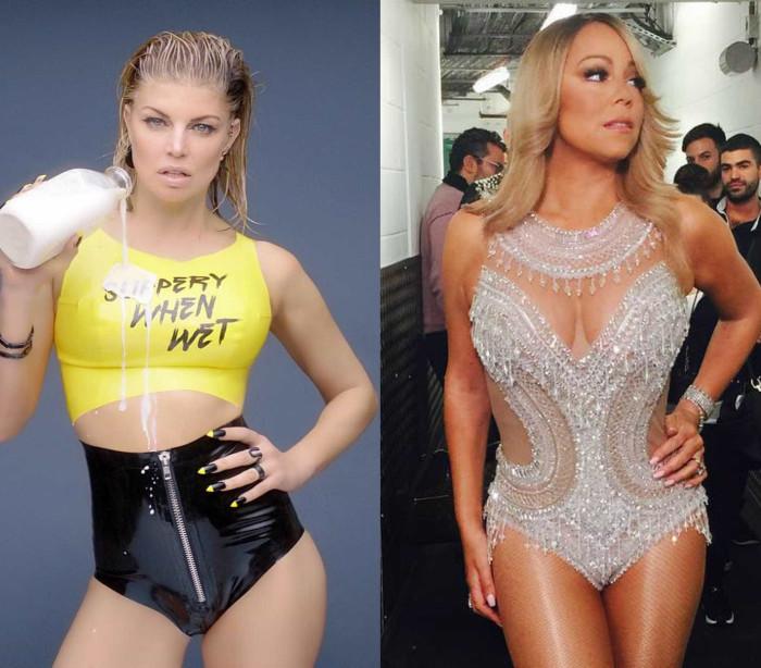 Mariah Carey e Fergie celebraram mais um ano de vida