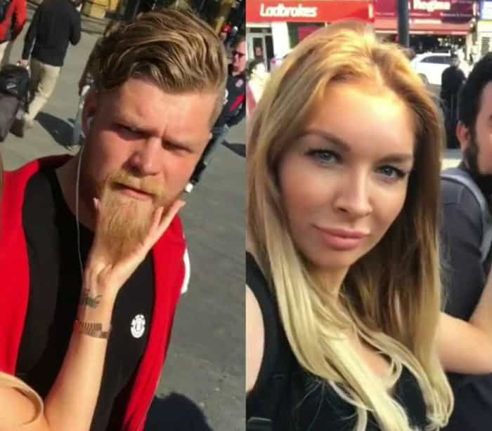 'Tarada' por barbas ataca homens na rua e vídeo viraliza; assista!