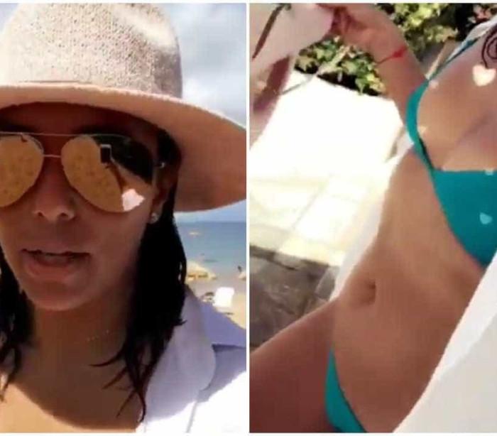 'Não estou grávida, apenas inchada!', Eva Longoria nega rumores