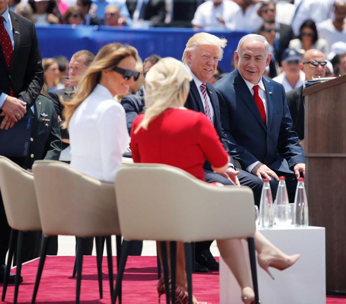 Trump chega a Israel e defende acordo  de paz com palestinos