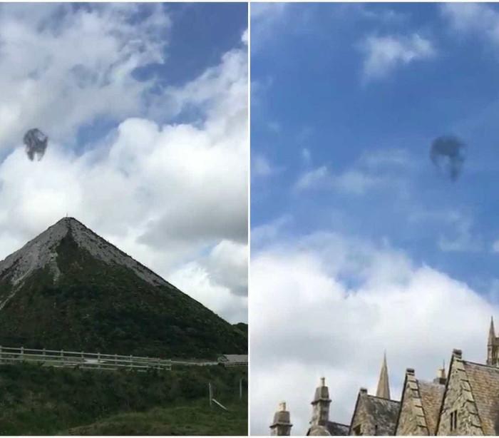 OVNI é filmado diversas vezes no Reino Unido