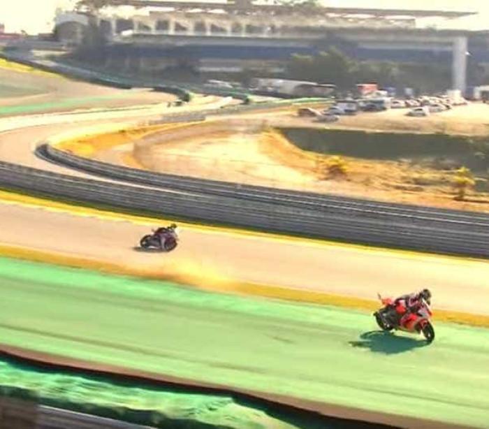 Piloto perde o controle e morre durante prova de moto em Interlagos