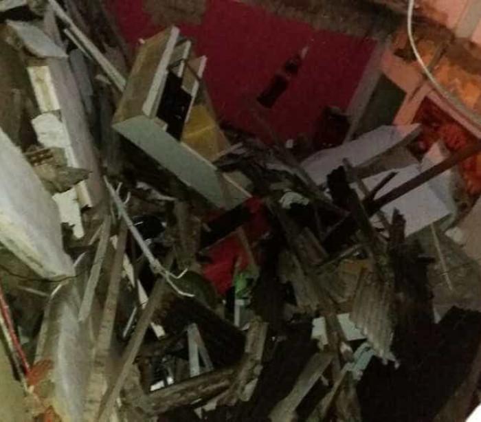 Grande Recife: prédio desaba, criança morre e adultos ficam feridos