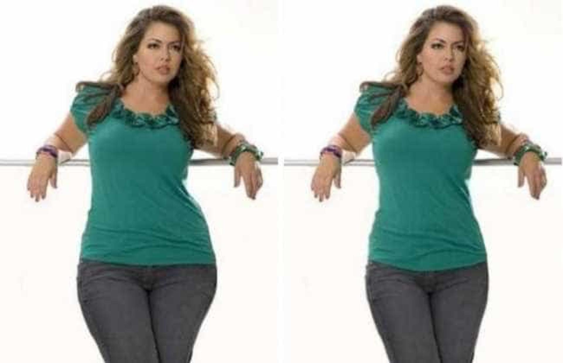Famosas antes e depois do Photoshop - …
