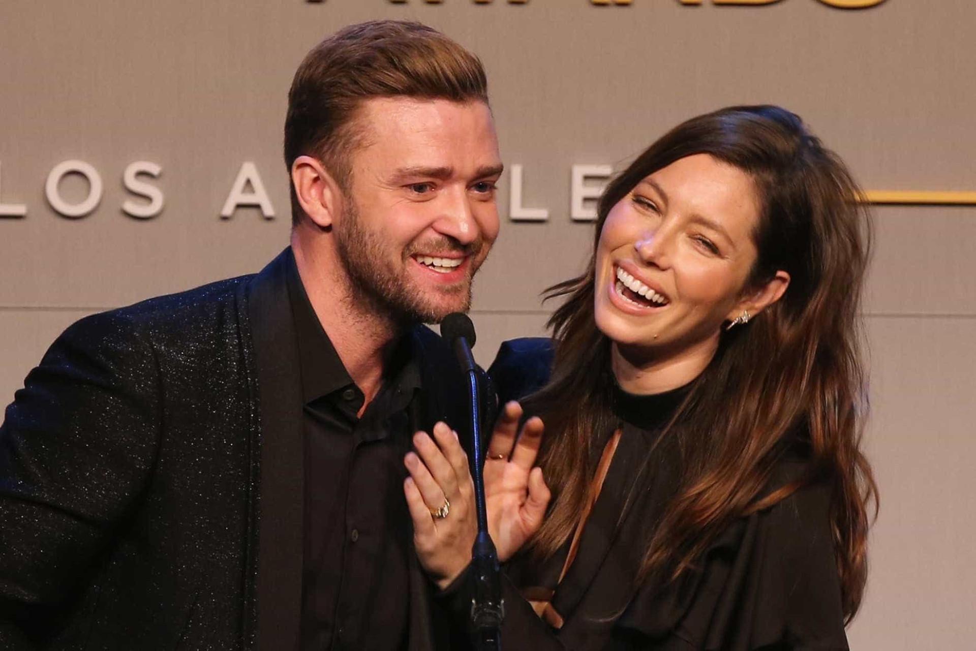 Jessica Biel e Justin Timberlake celebram aniversário de casamento