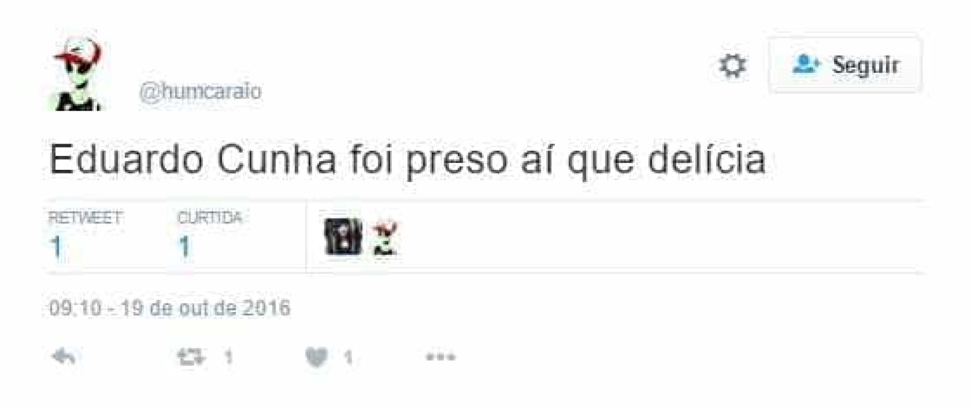 Prisão de Eduardo Cunha vira meme na internet; confira