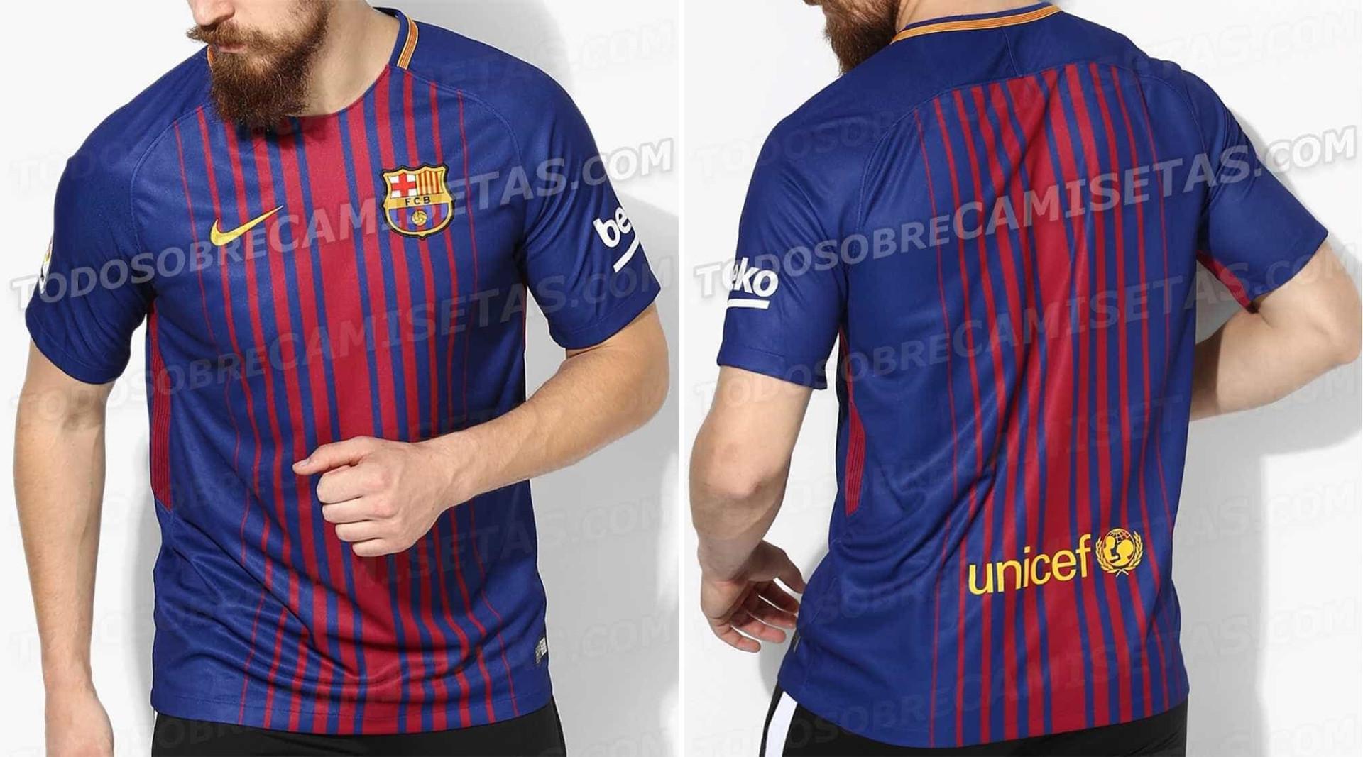 Vazam imagens da nova camisa do Barcelona; veja fotos!