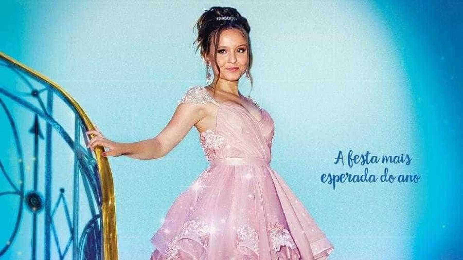 """Larissa Manoela recebe elogios por cartaz do filme """"Meus 15 anos"""""""