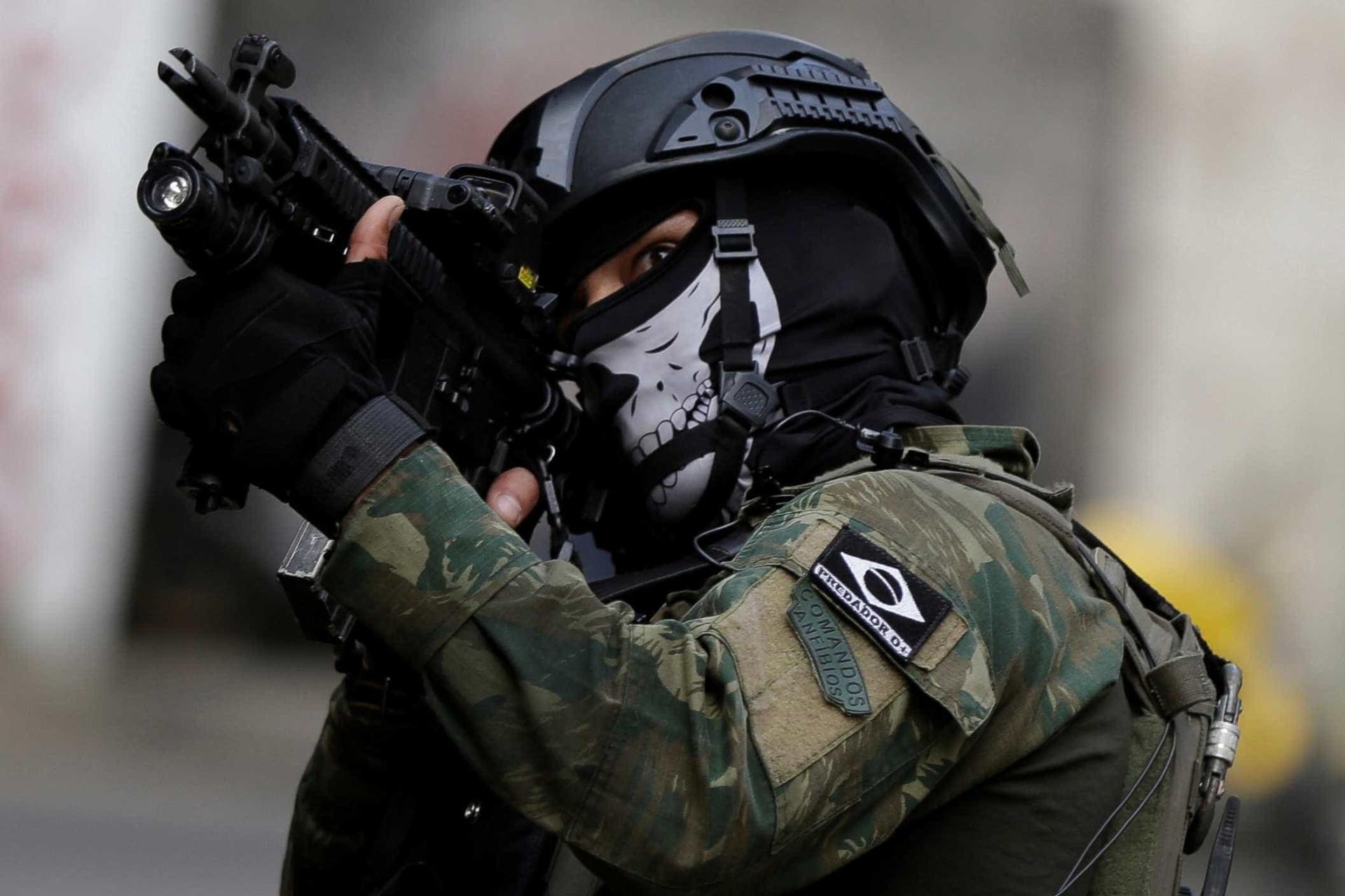 Veja as principais imagens dos 6 dias de ocupação na Rocinha