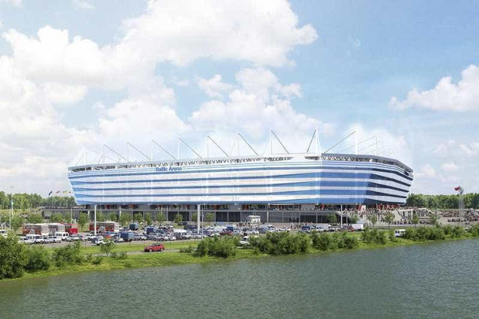 Conheça os estádios onde serão realizados os jogos da Copa da Rússia