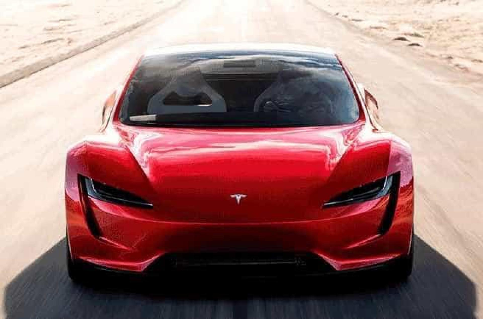Carro elétrico da Tesla fará 0 a 100 km/h em menos de dois segundos