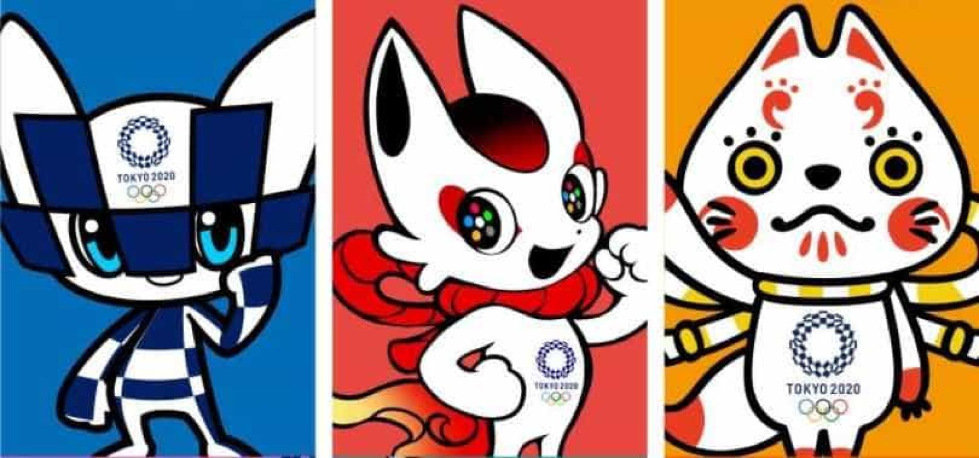 Japão apresenta opções de mascotes para Olimpíadas de 2020