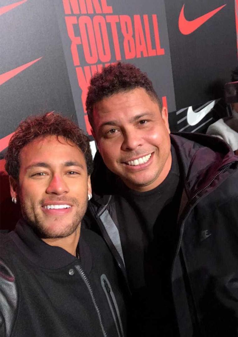 Veja os craques que foram ao lançamento da nova chuteira da Nike