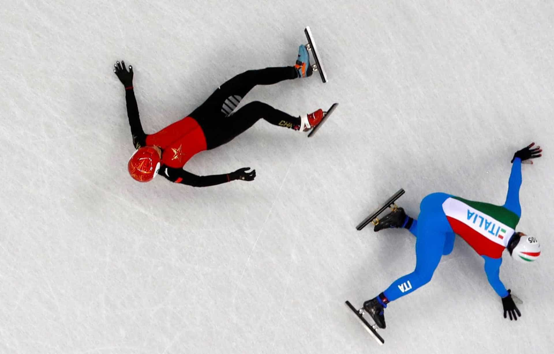 Tombo no gelo: as piores quedas das Olimpíadas de Inverno 2018