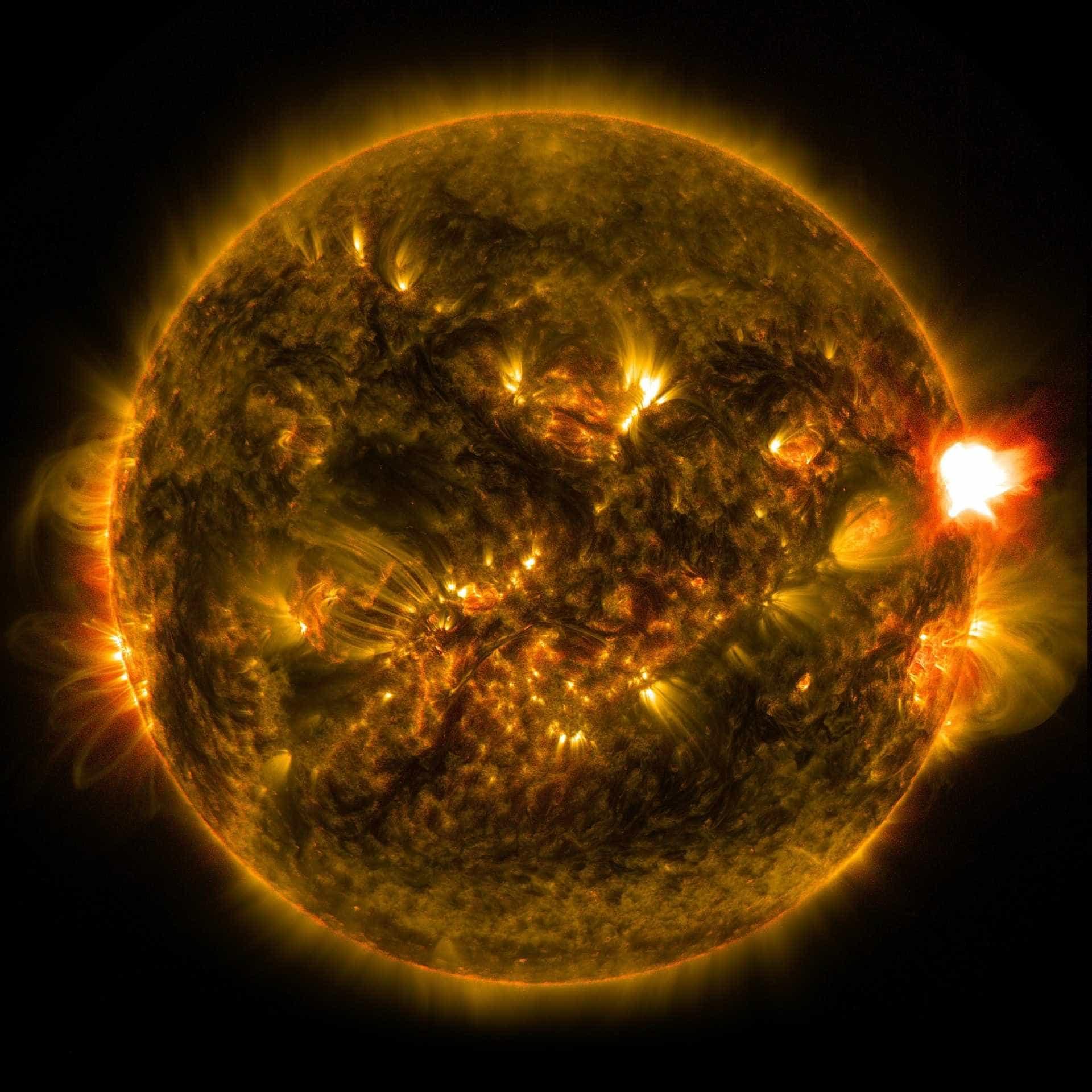 Tempestade solar pode atingir planeta Terra nesta quarta