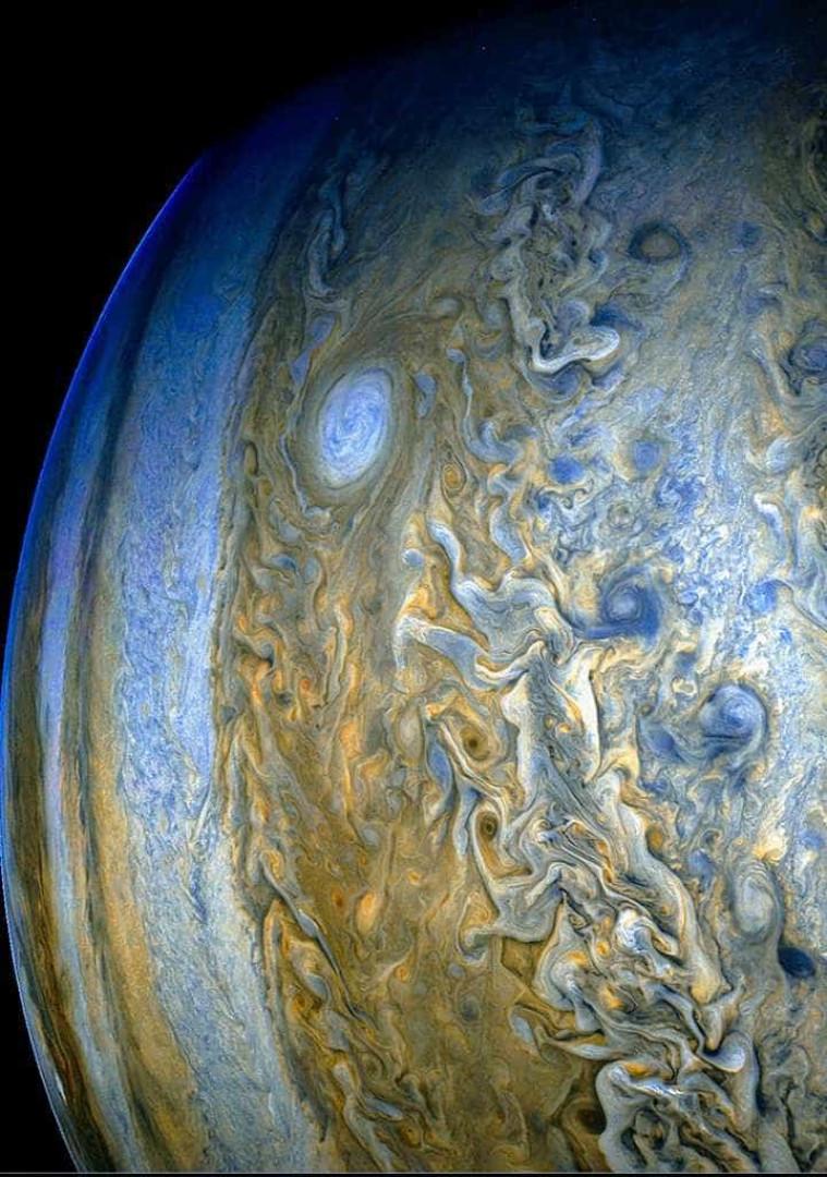 NASA publica novas imagens de Júpiter; veja
