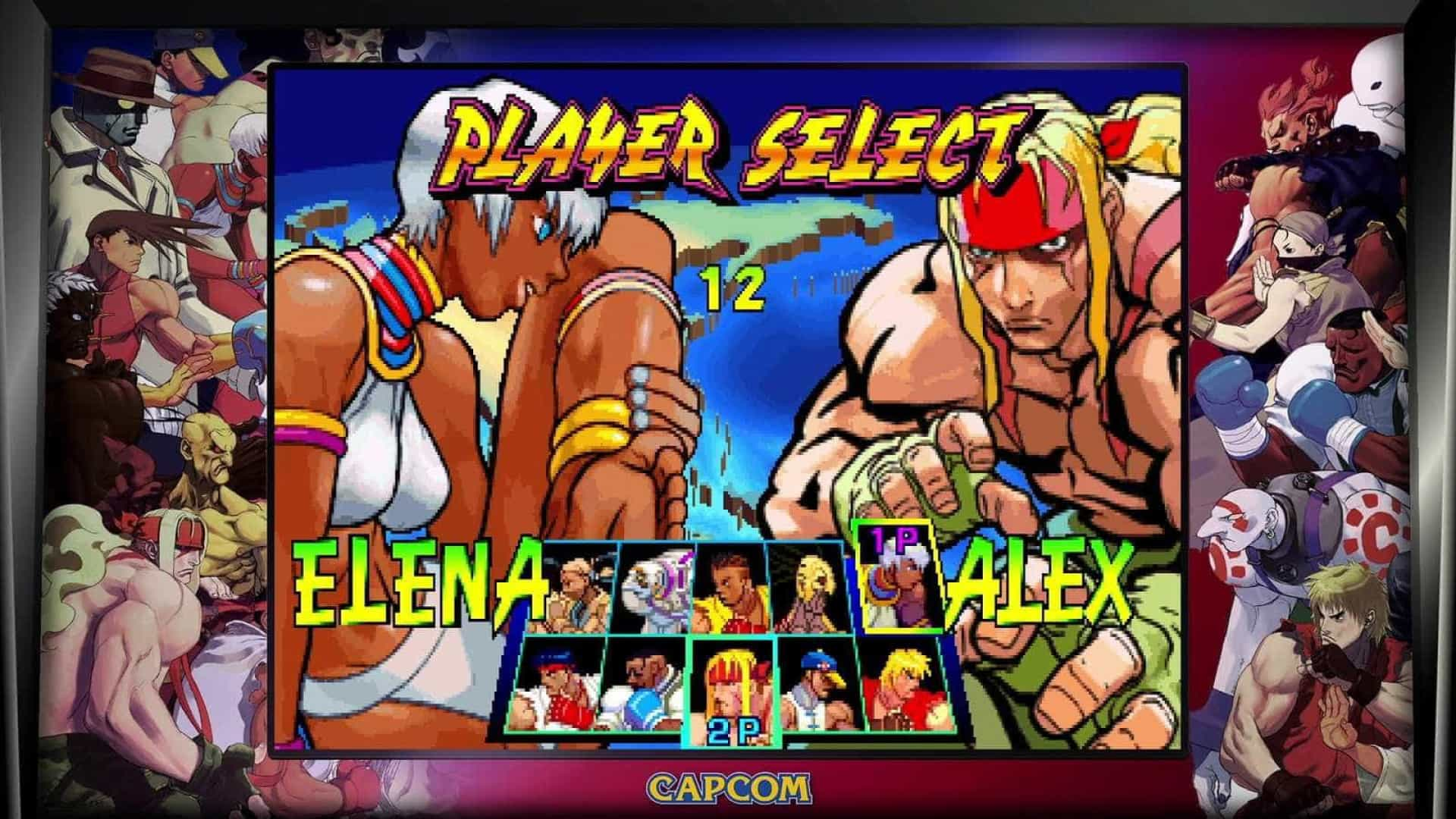 Street Fighter: 30th Anniversary Collection reúne 12 games da saga