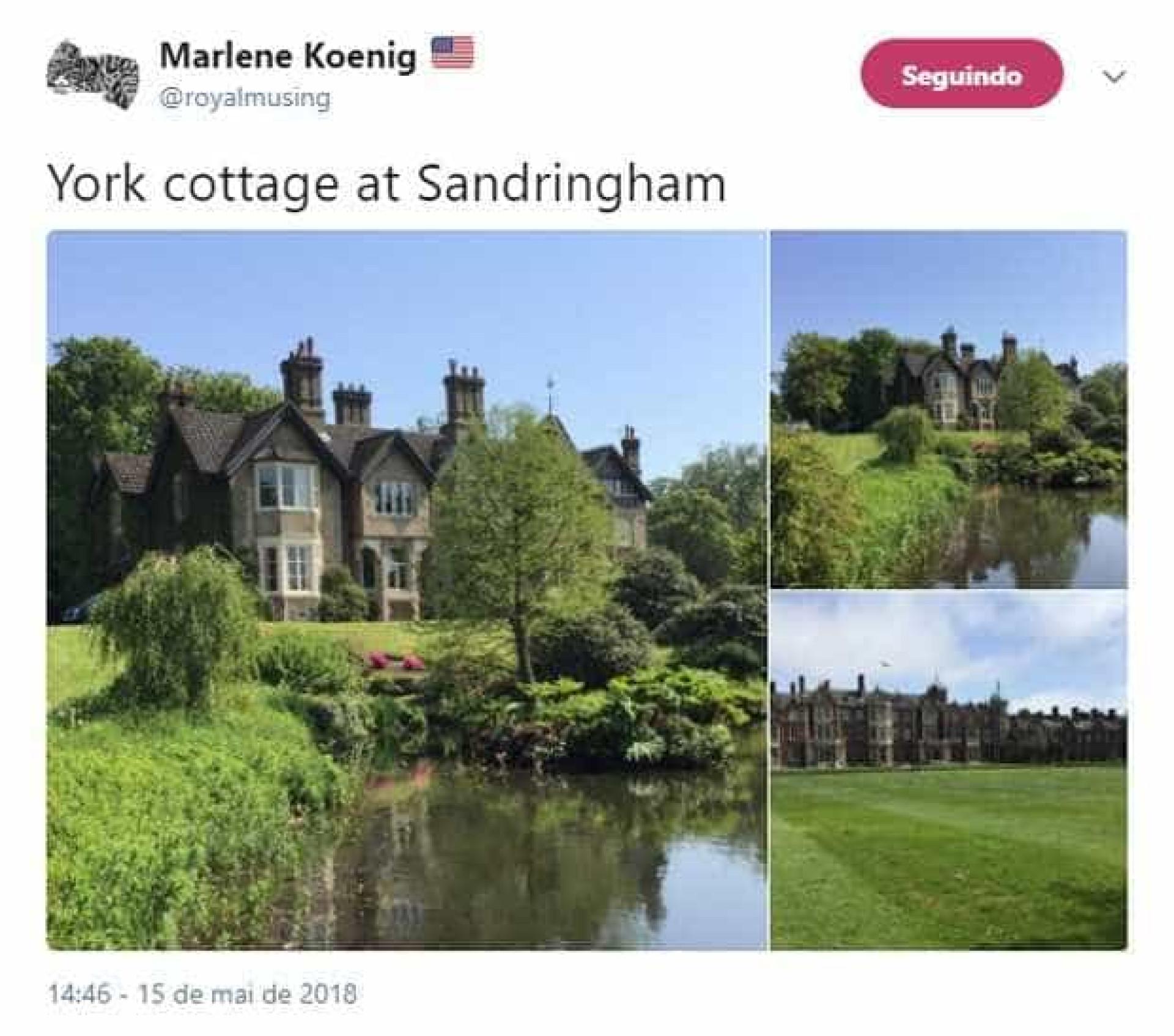 Rainha dá mansão de presente a Meghan e Harry; veja fotos