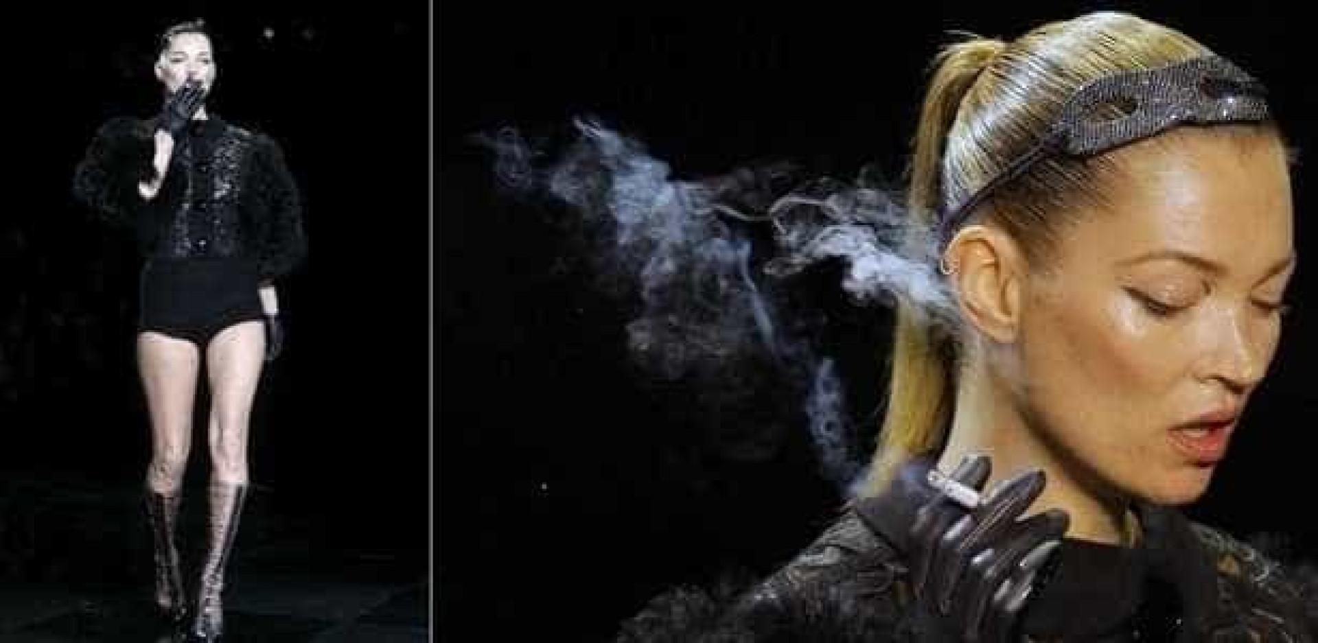 Veja as modelos que fumam ou já fumaram