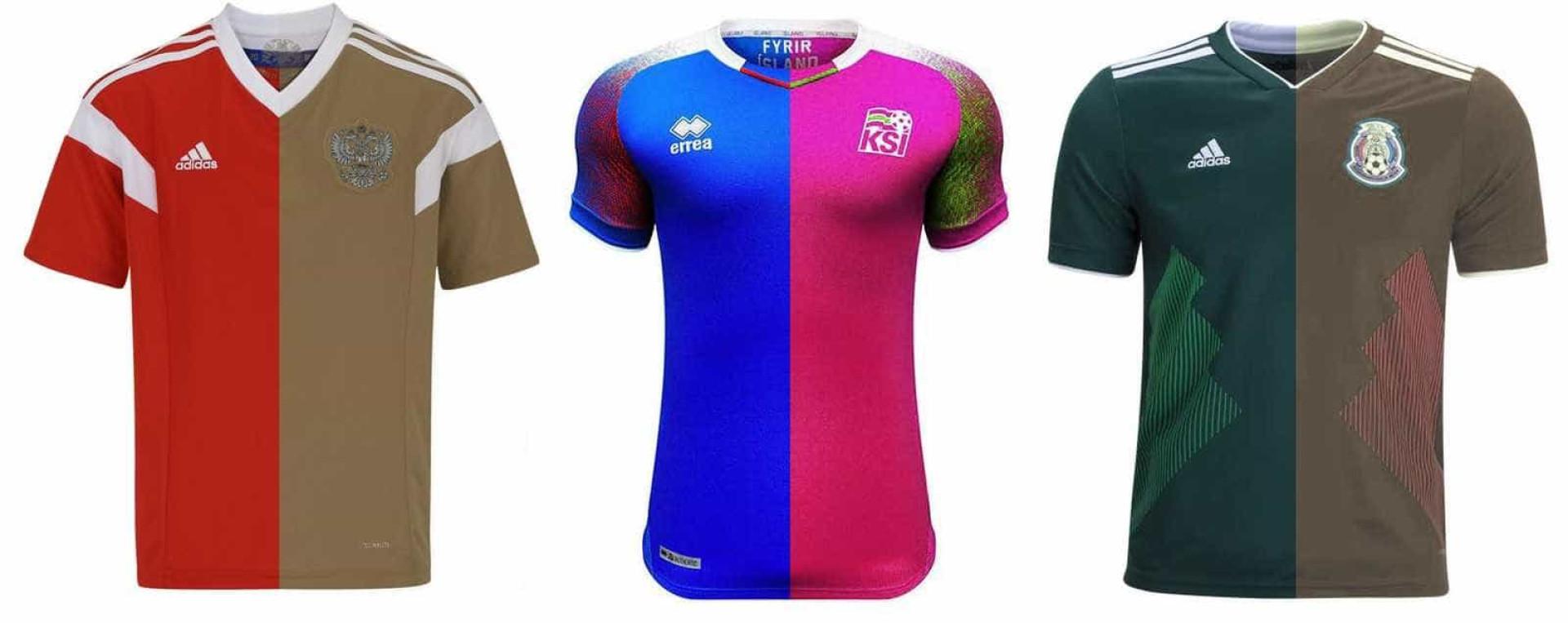 Daltonismo: cor da camisa na Copa é um problema para 9% das pessoas