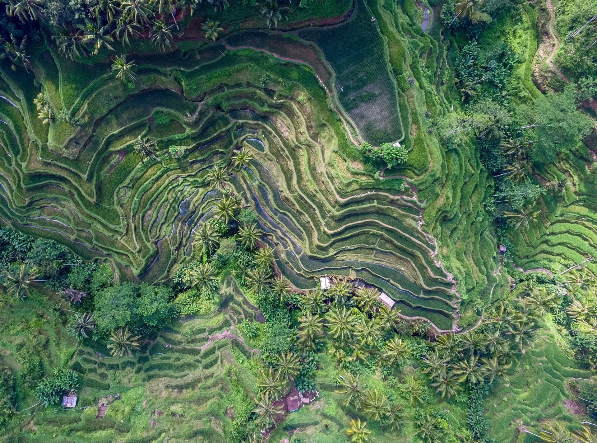 Espetaculares: paisagens surreais vistas de cima