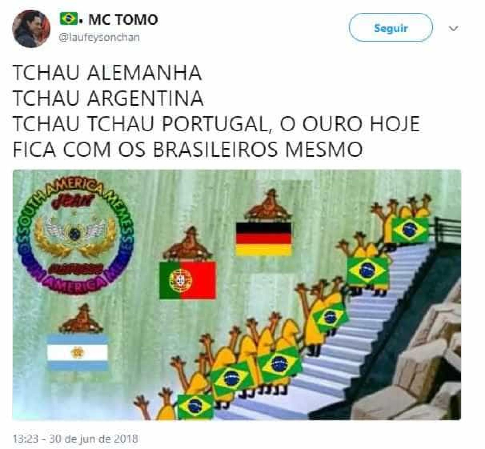Eliminação de Portugal é tema de memes irreverentes neste sábado; veja