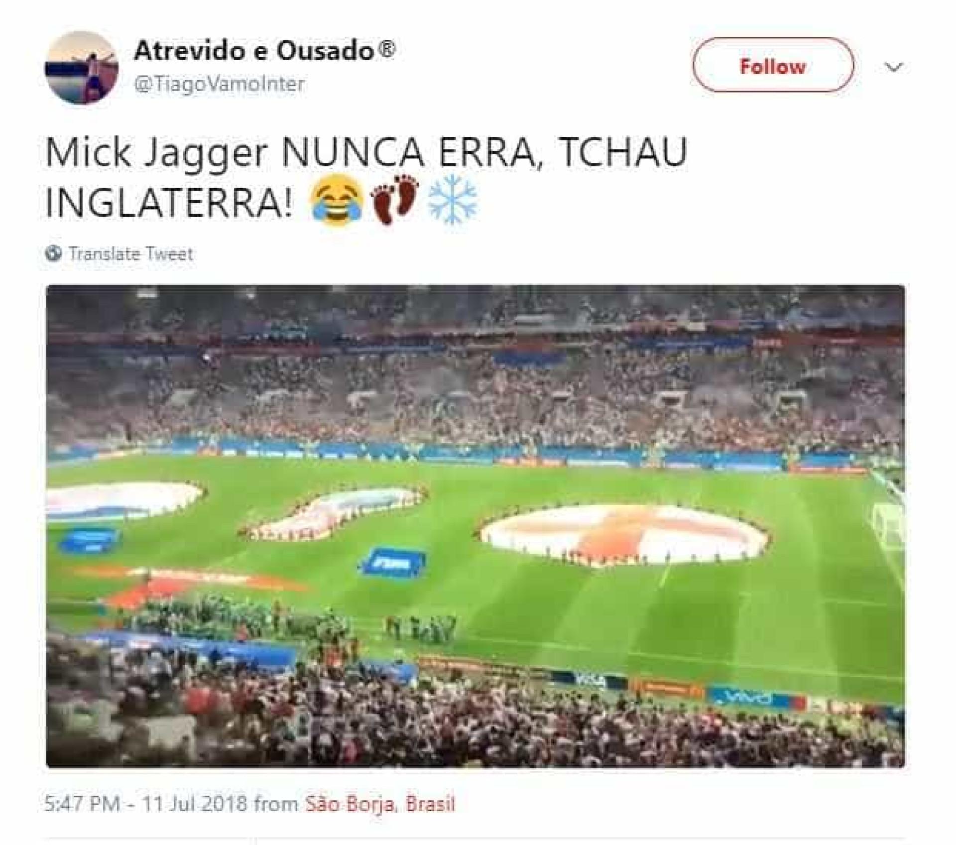 Mick Jagger volta a ser chamado de pé-frio; veja os melhores memes