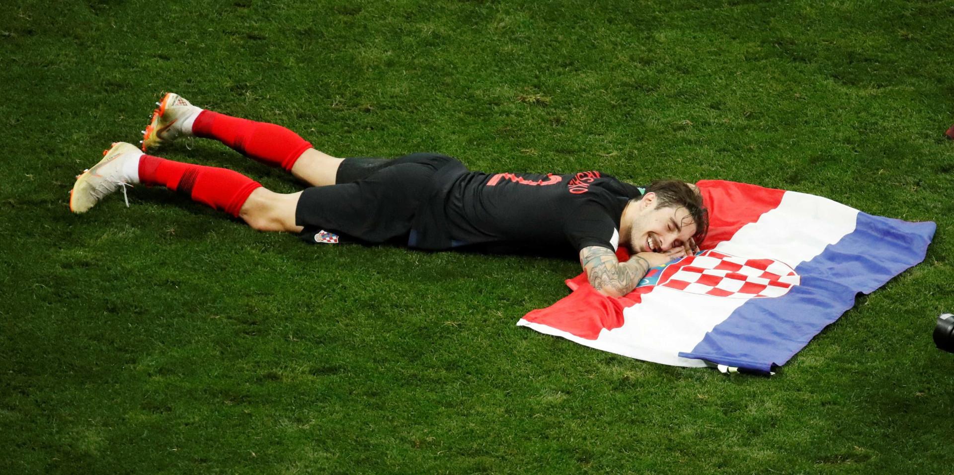 Em imagens, confira as trajetórias de França e Croácia à final da Copa