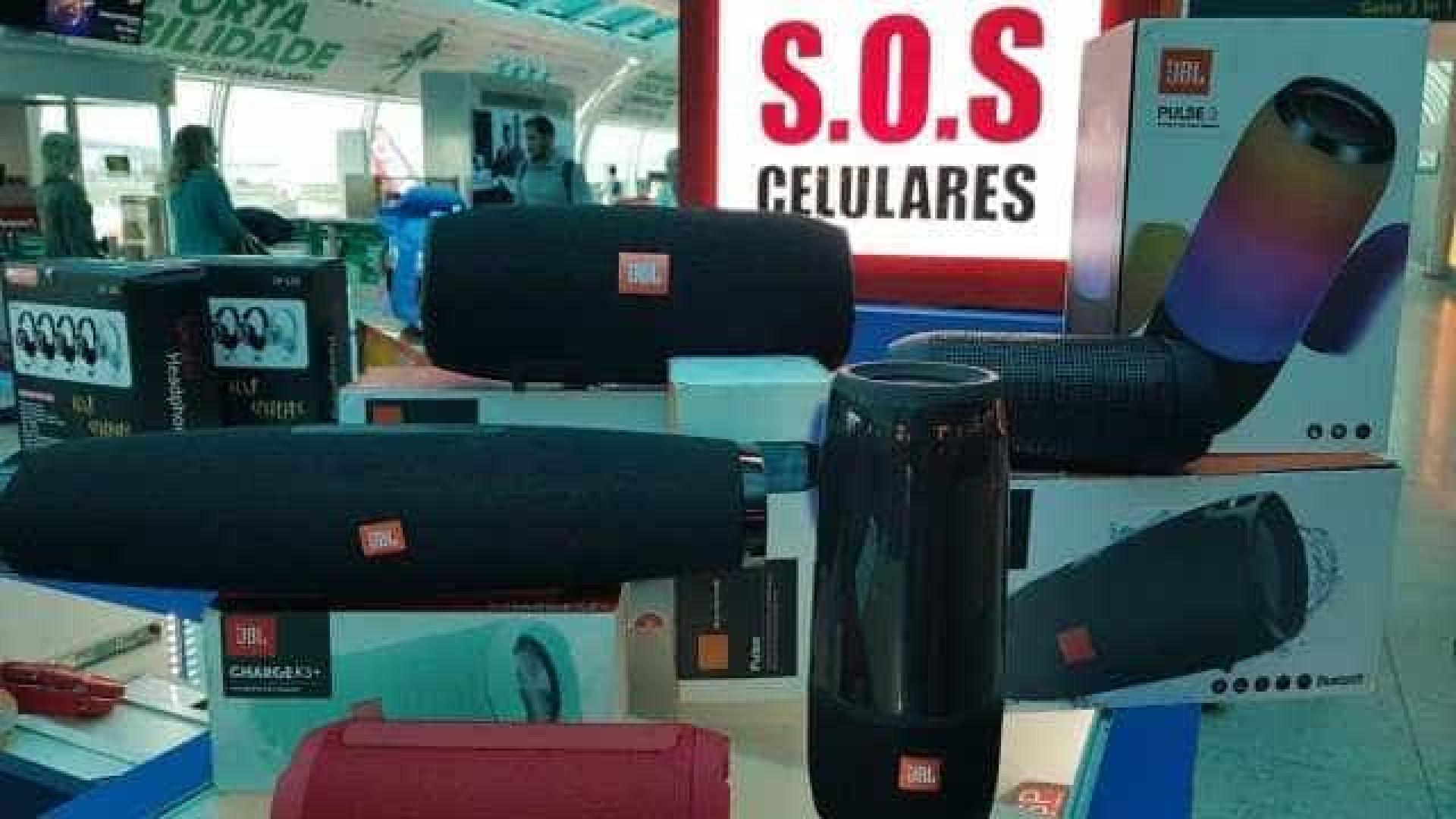 Polícia apreende R$ 3 mi em produtos falsos em loja do Santos Dumont