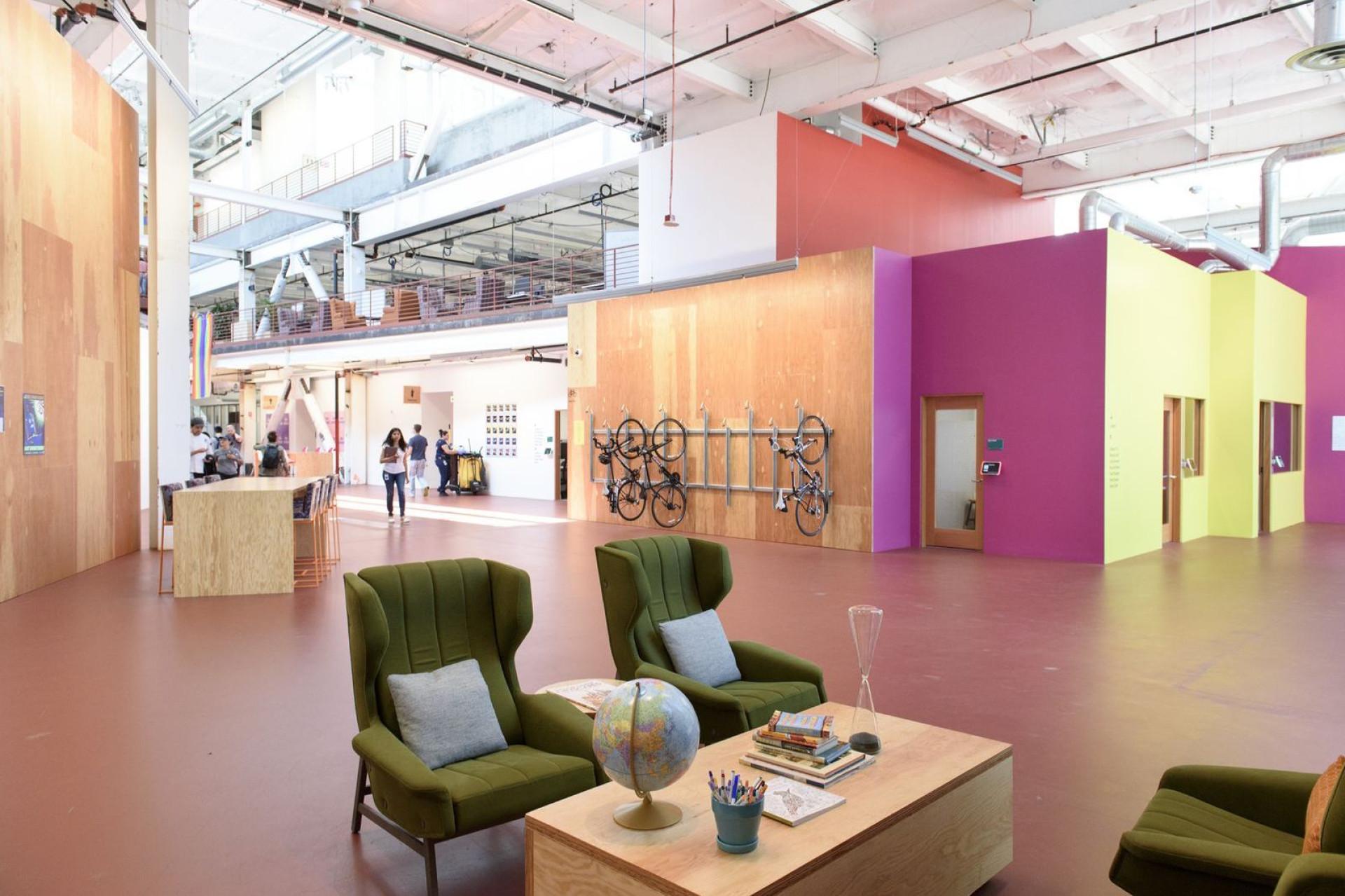 Conheça a nova sede do Facebook na Califórnia