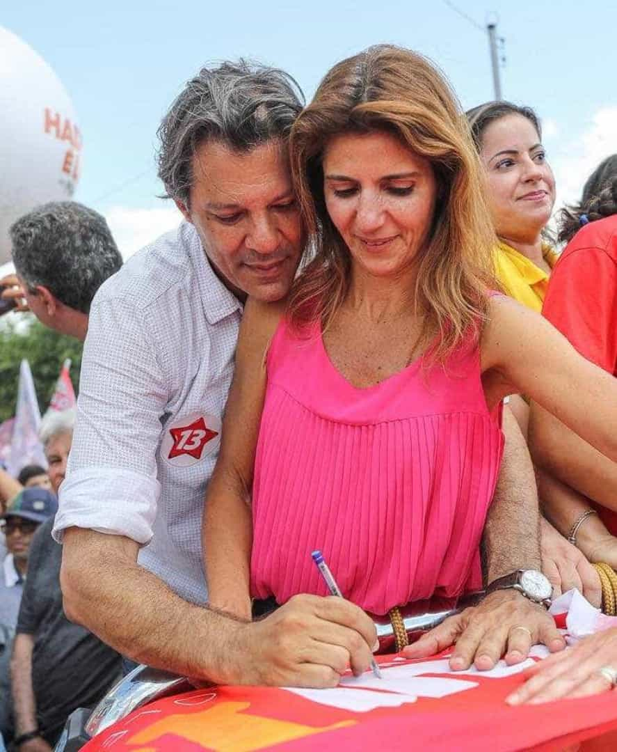 Saiba quem são as esposas de Fernando Haddad e Jair Bolsonaro