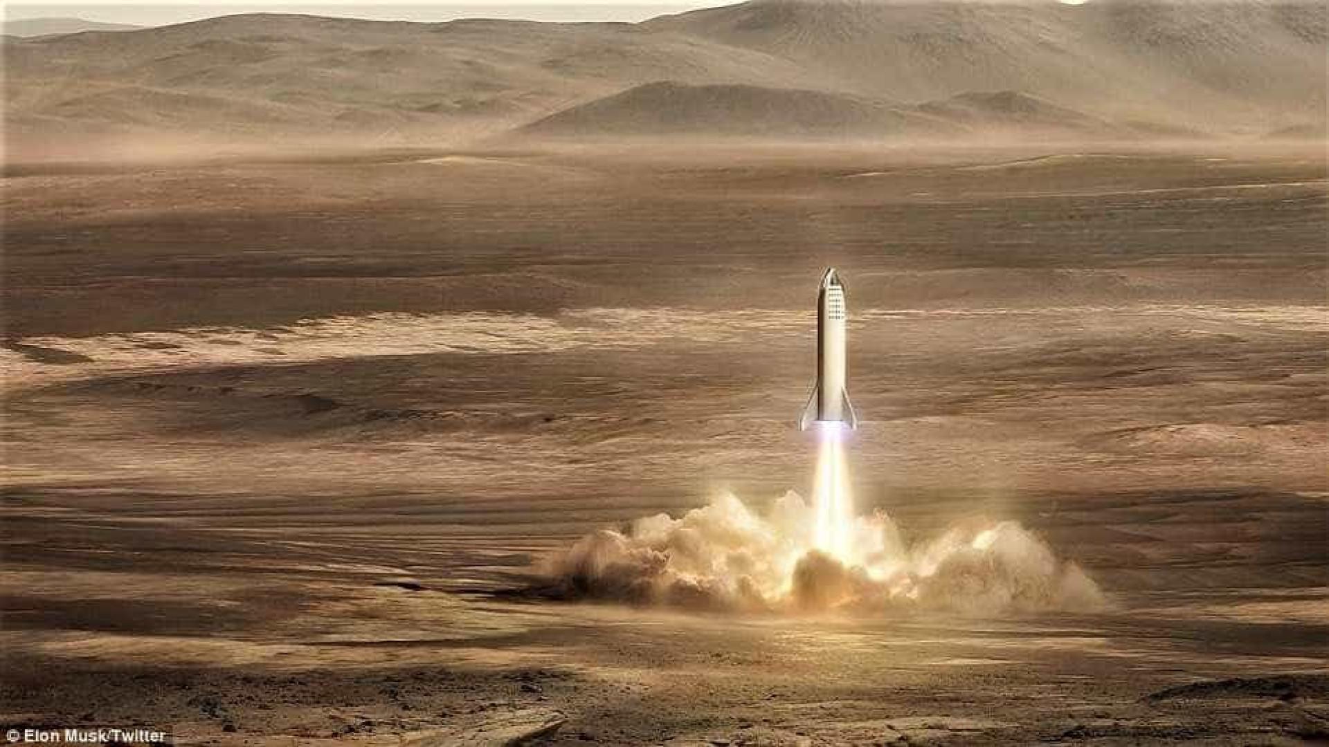 Estação em Marte? Imagens do projeto de Elon Musk foram divulgadas