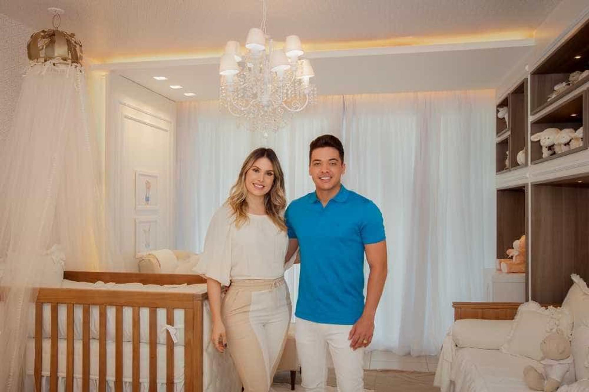 Wesley Safadão e Thyane mostram quarto do Dom