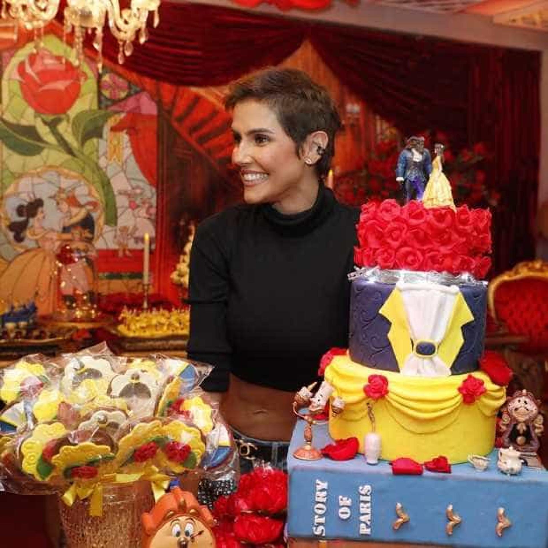 Filha de Deborah Secco e Hugo Moura comemora 3 anos em festa no Rio