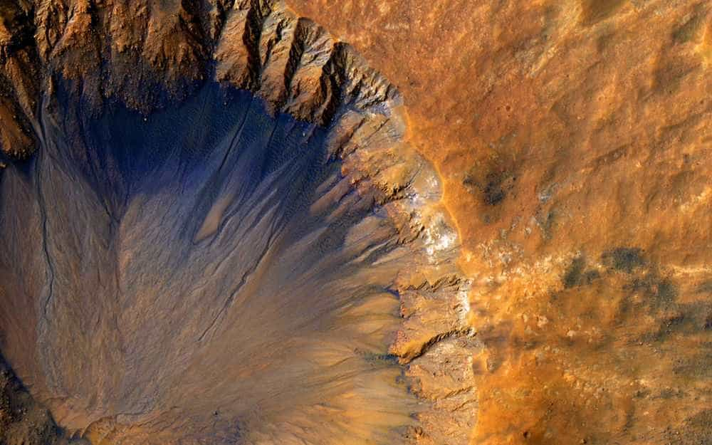 Imagens de Marte recolhidas pela NASA  quase parecem da Terra -