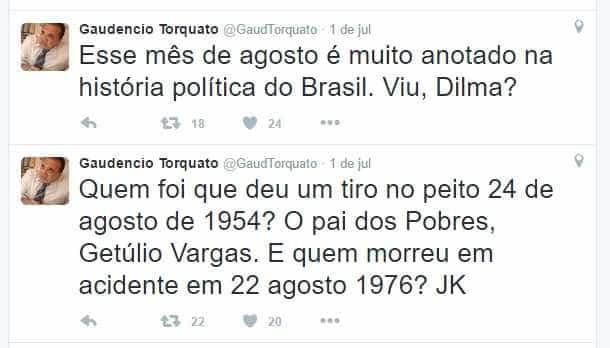 gaudencio torquato twitter