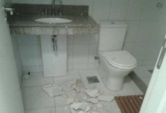 Funcionários insatisfeitos podem ter sabotado obras na Vila