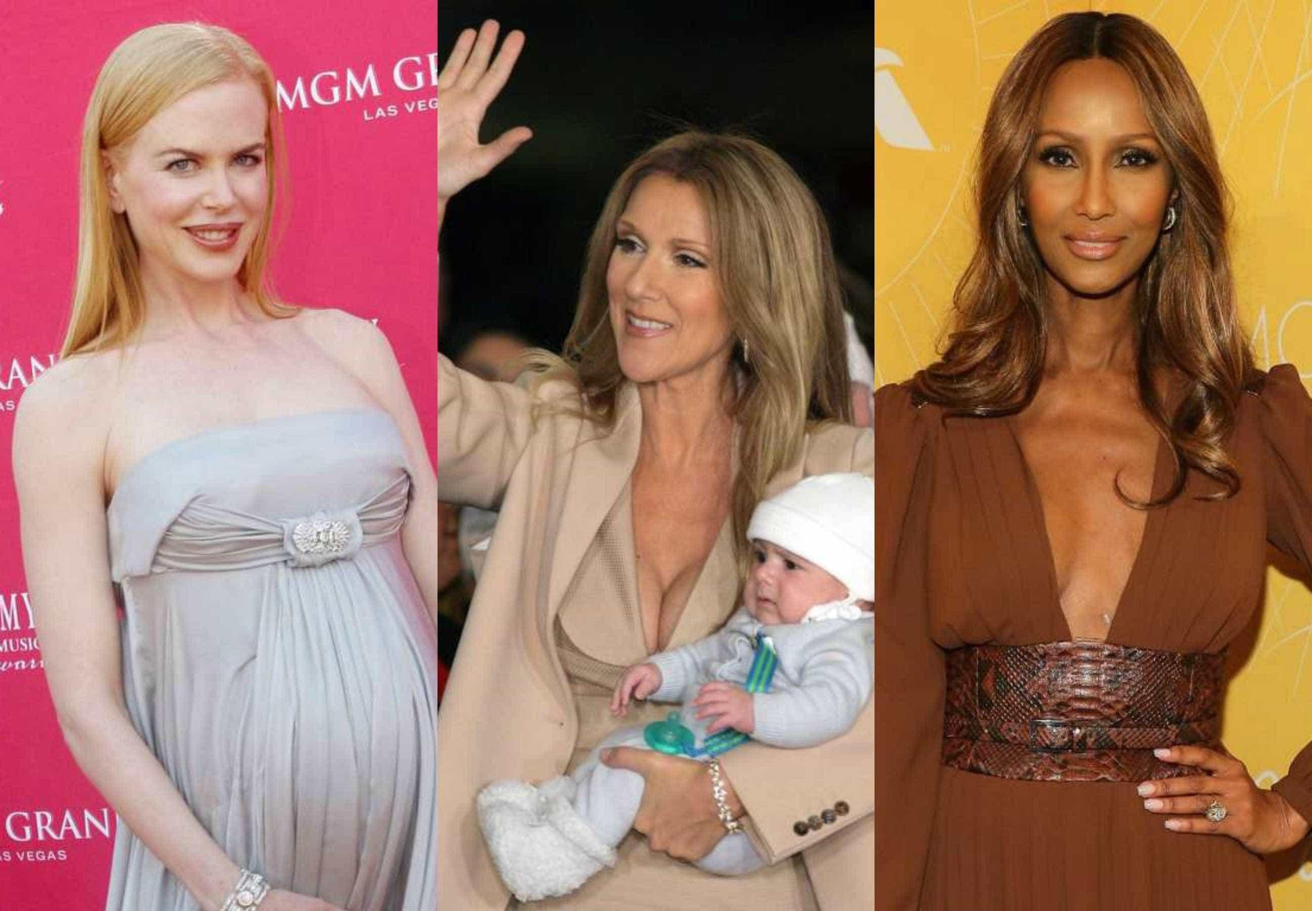 As famosas que se tornaram mães após os 40 anos -