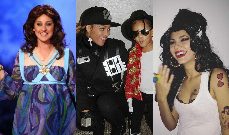 Halloween: Os famosos que se vestiram de celebridades -