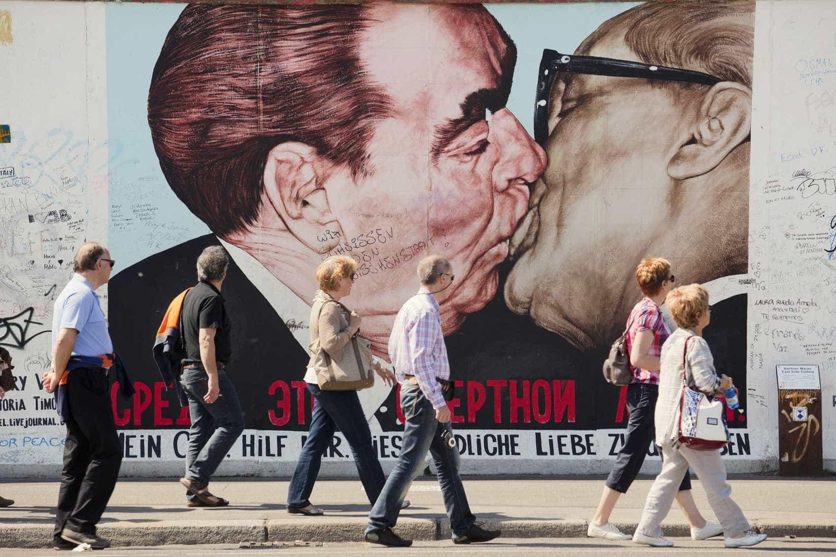 East Side Gallery, Berlim, Alemanha -