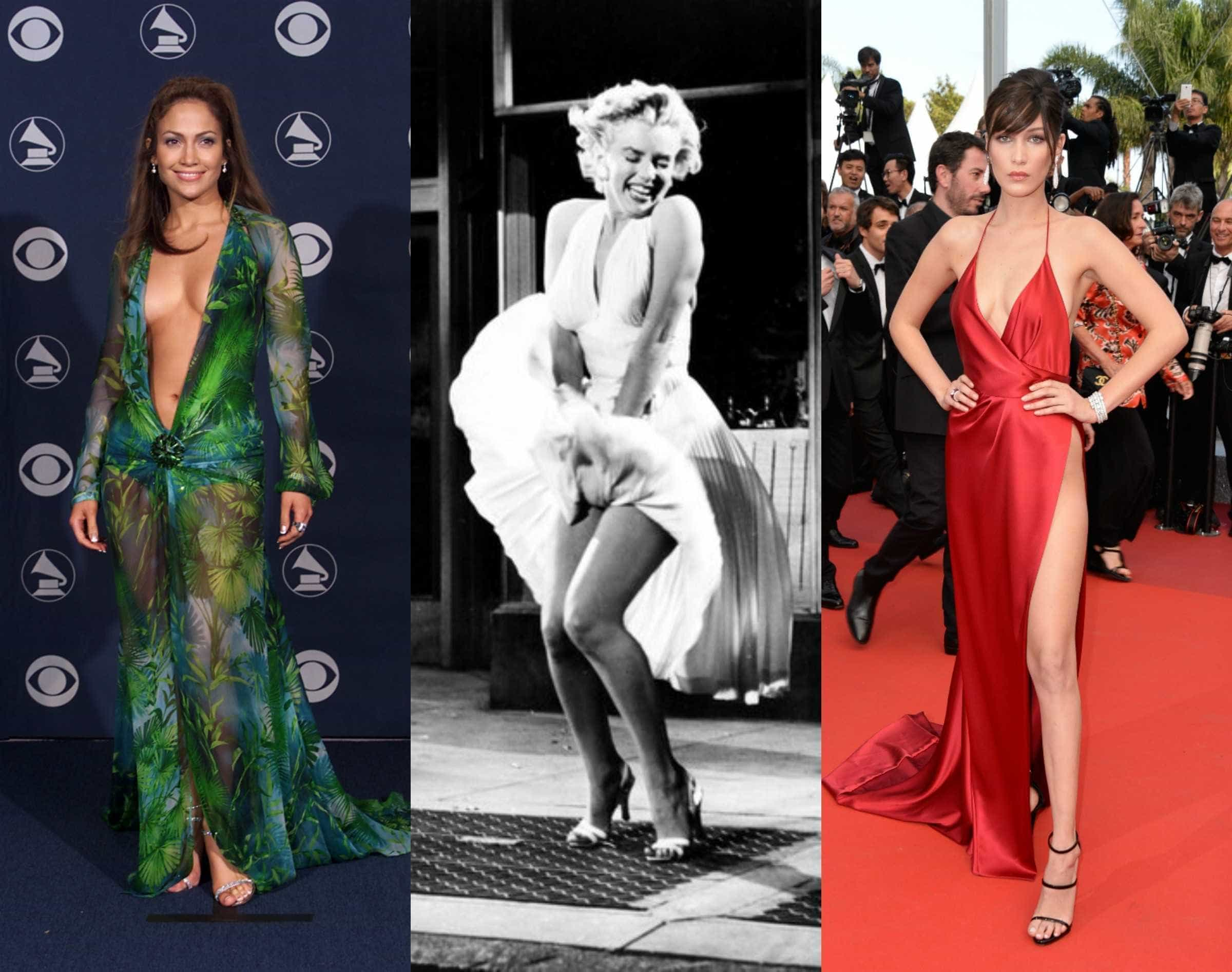 Relembre os vestidos mais provocantes da história -