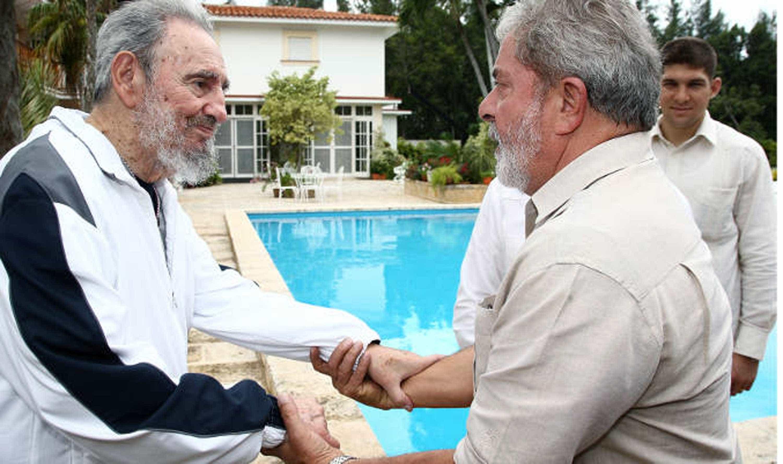 Confira as fotos mais marcantes de Fidel Castro ao lado de famosos -