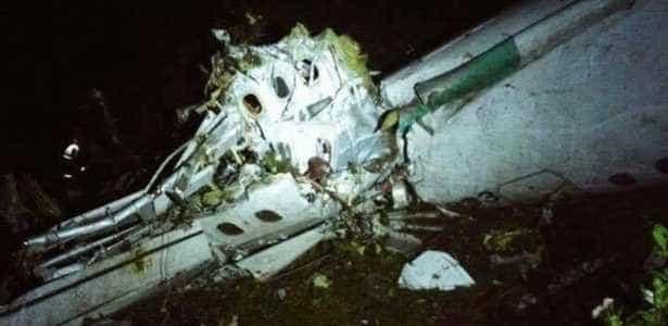 Acidente com avião da Chapecoense  tem 25 mortos