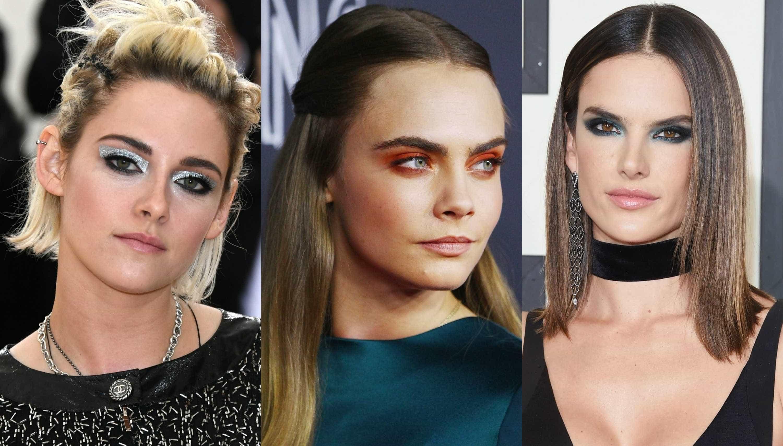 Tendências das celebridades: Sombras de olhos vibrantes -