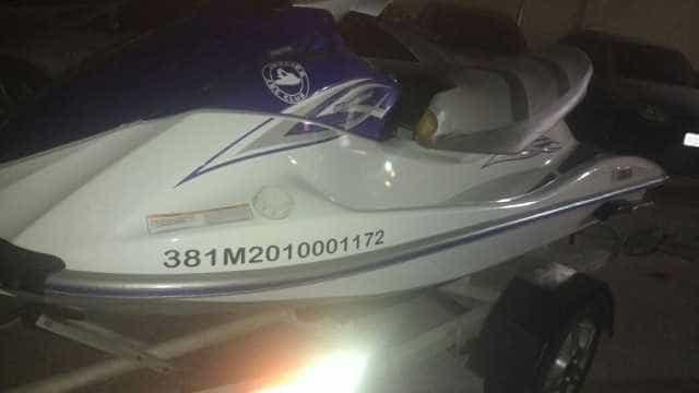 Jet ski e quadriciclo do tráfico são apreendidos pela polícia